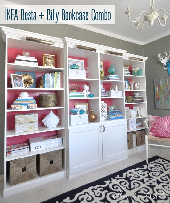 Practical Bookcases To Brighten Up Your Living Room