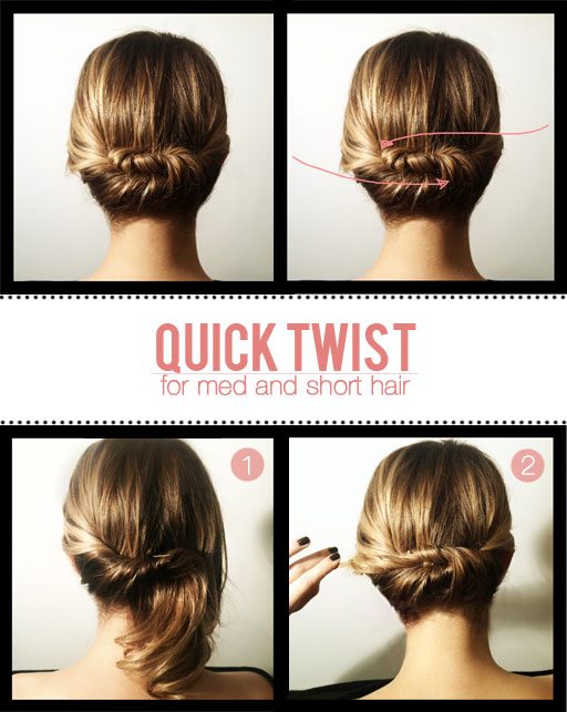 Hairstyles For Short Hair Easy To Do 58