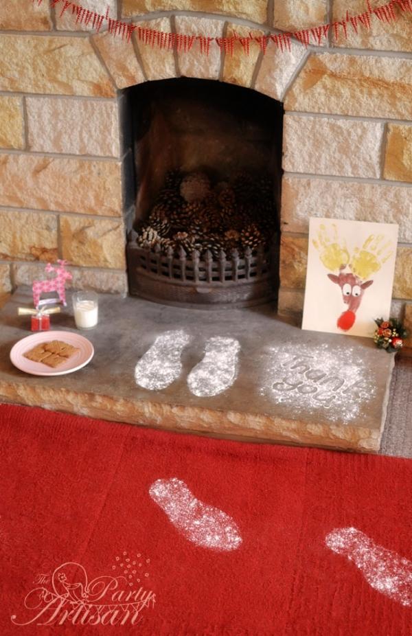 "Santa's ""Footprints"""