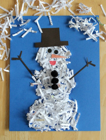 Shredding-Snowman