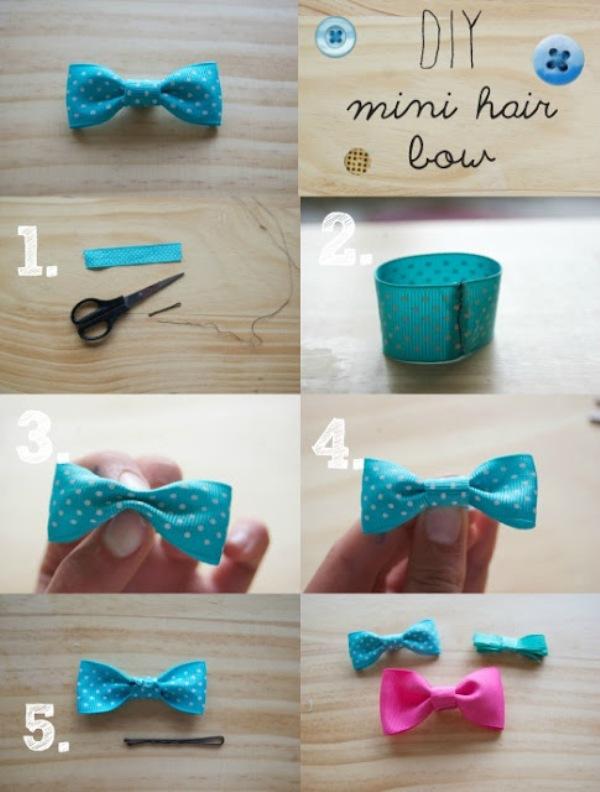 Peachy 30 Cute And Easy To Make Hair Bows Cute Diy Projects Short Hairstyles Gunalazisus