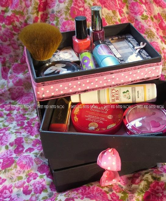 Stylish Beauty Box Makeup Organizer