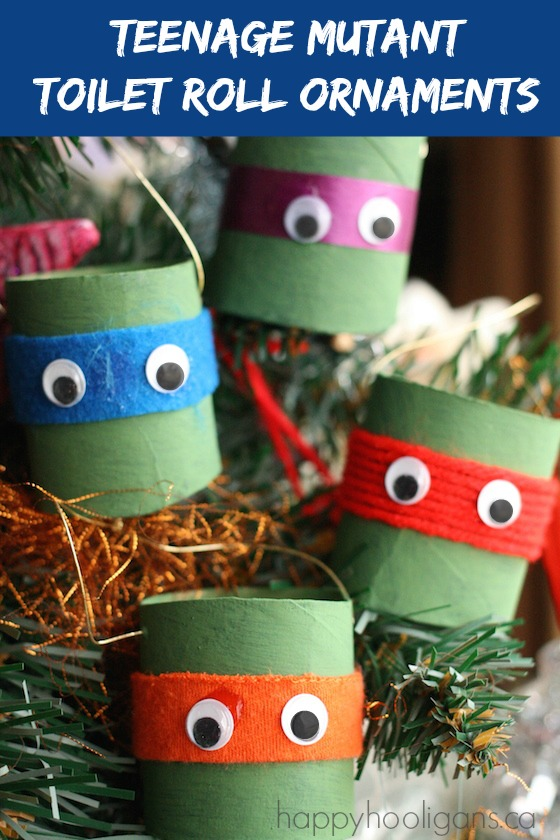 Teenage Mutant Ninja Turtle Ornaments