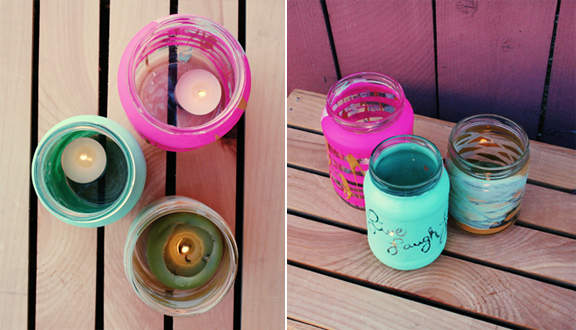 The DIY Mason Candle Jar