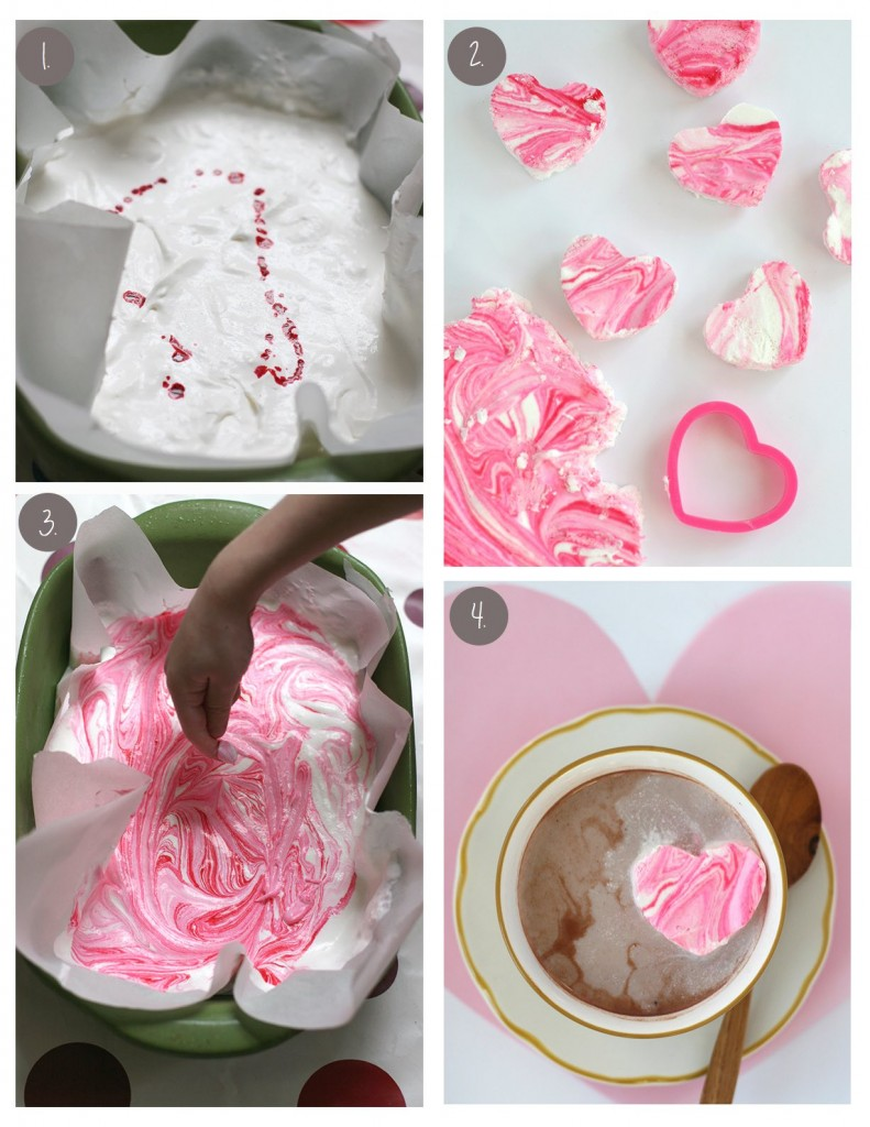 The Easiest Peppermint Marshmallows