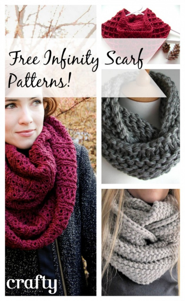 Knit Infinity Scarf Patterns : How to Knit - 45 Free and Easy Knitting Patterns   Page 2 ...