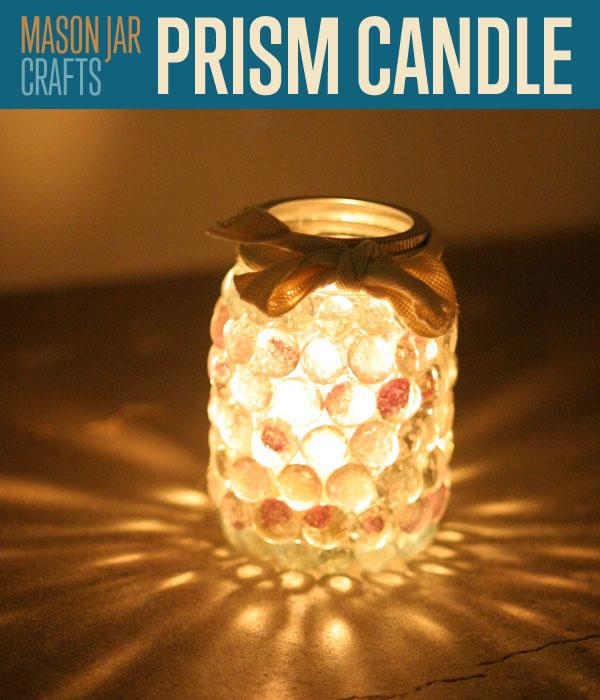 The Prism Mason Jar Light