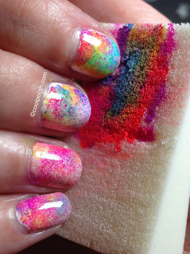 Tie-Dyed Nails