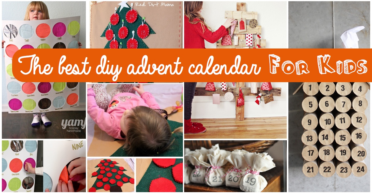 Top 15 Ideas For The Best Diy Advent Calendar For Kids Cute Diy