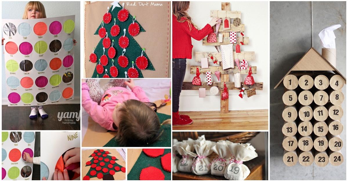 Cute Diy Calendar : Top ideas for the best diy advent calendar kids