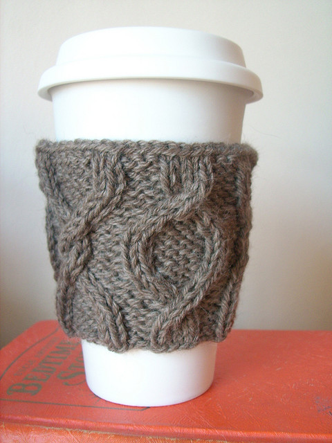 Twisted Coffee Cozy