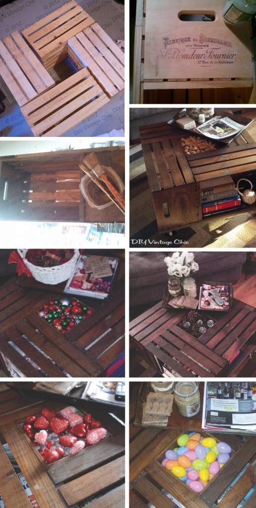 12 amazing diy rustic home decor ideas page 2 of 2 for Vintage wine crate coffee table