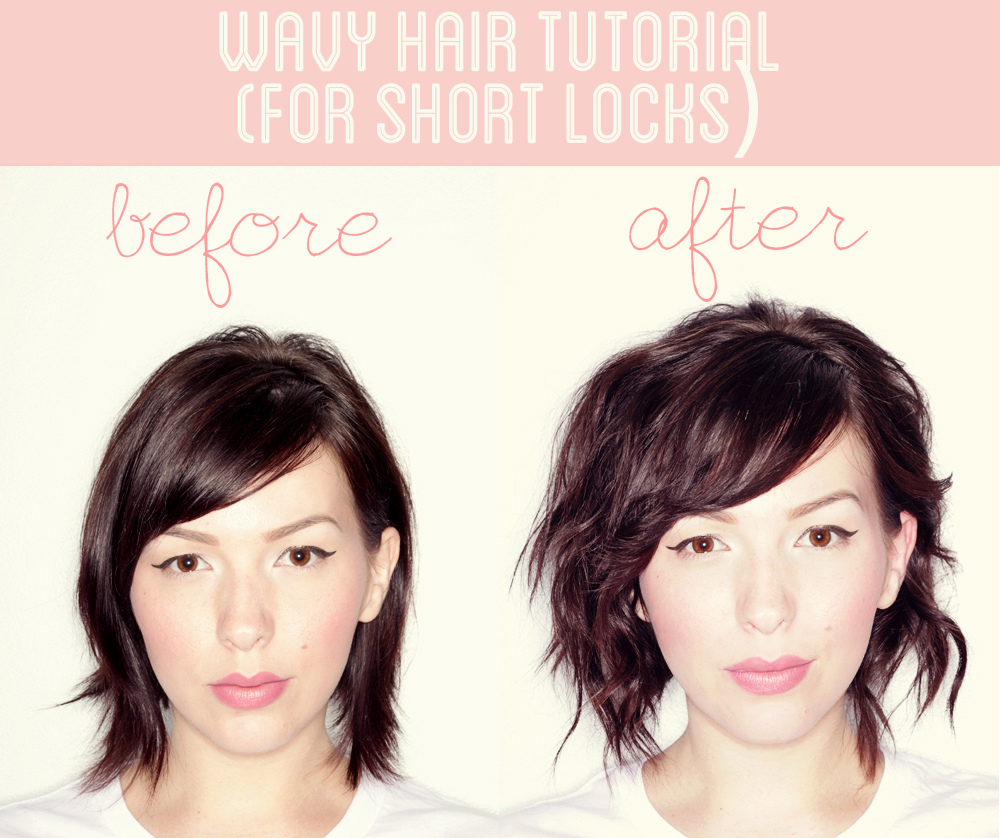 Short Hairstyles For That Perfect Look Cute DIY Projects - Easy hairstyle for short hair tutorial