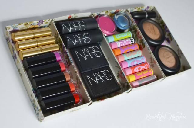 Xmas Box Makeup Storage