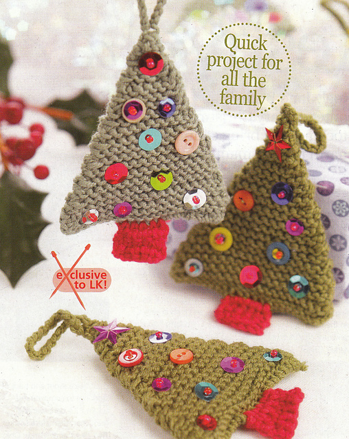 Knitted Xmas Tree Decorations Patterns : How to Knit - 45 Free and Easy Knitting Patterns   Page 2 of 2   Cute DIY Pro...