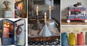 25+ Easy to Make DIY Vintage Decor Ideas