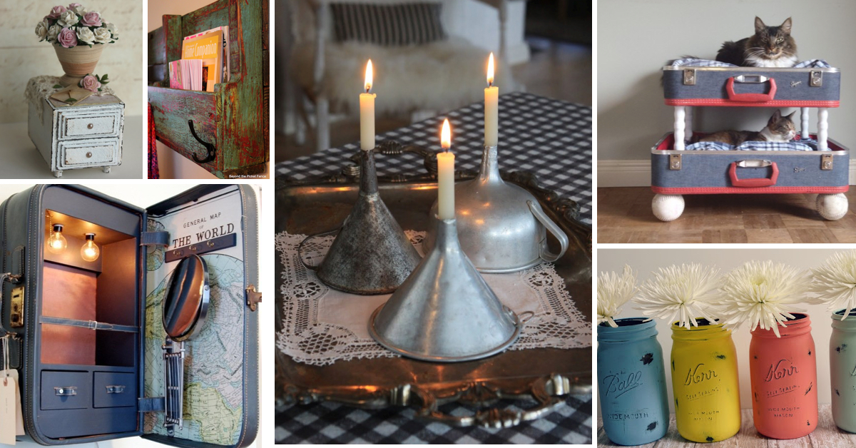 . 25  Easy to Make DIY Vintage Decor Ideas   Cute DIY Projects