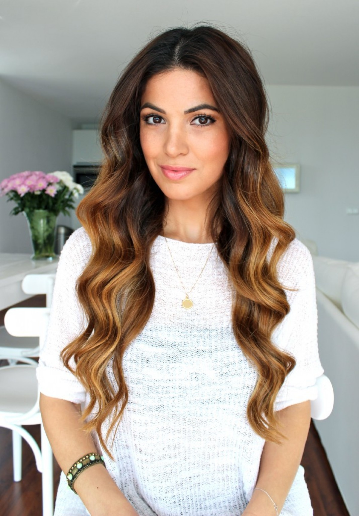 Hairstyles For Dinner Party Part - 33: Soft Bouncy Curls Hairstyle
