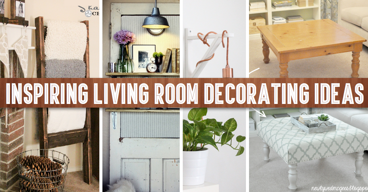 Living Room Diy Decor Prepossessing 40 Inspiring Living Room Decorating Ideas  Cute Diy Projects Design Decoration