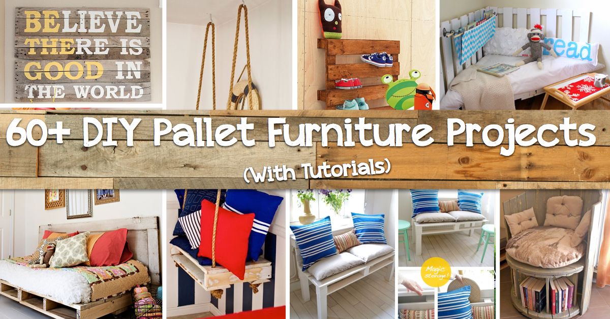 do it yourself furniture projects. 60+ DIY Projects That Will Redefine The Way You See Pallet Furniture Do It Yourself