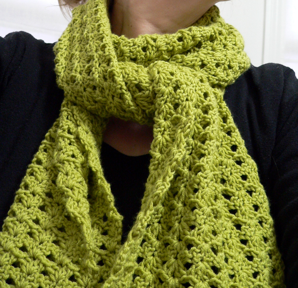 Crochet Pattern For Scarf Easy : These 20+ Free and Easy Crochet Scarf Patterns Will Blow ...