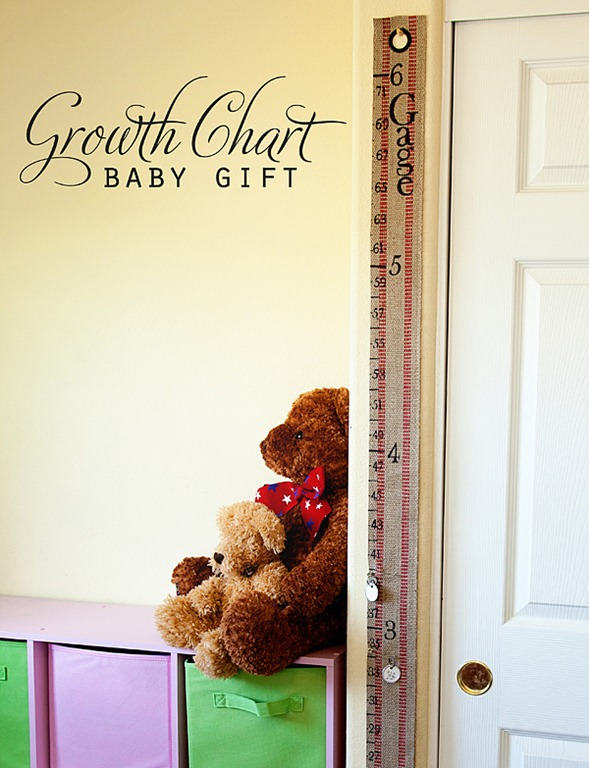 A portable growth chart kit