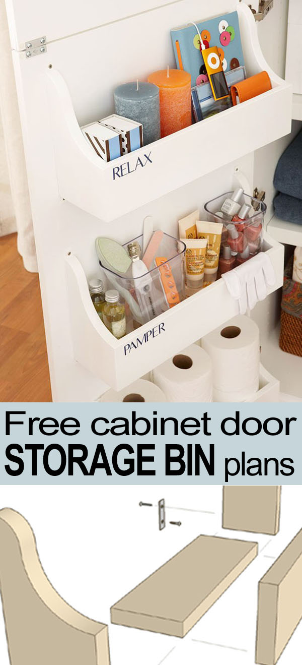 Diy bathroom storage cabinet - Bathroom Cabinet Door Storage