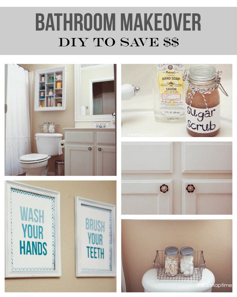 30 diy storage ideas to organize your bathroom page 2 of 2 cute diy projects