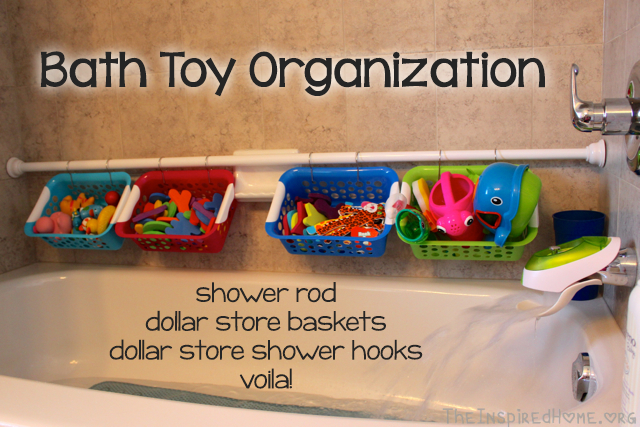 Bathroom Toy Organization