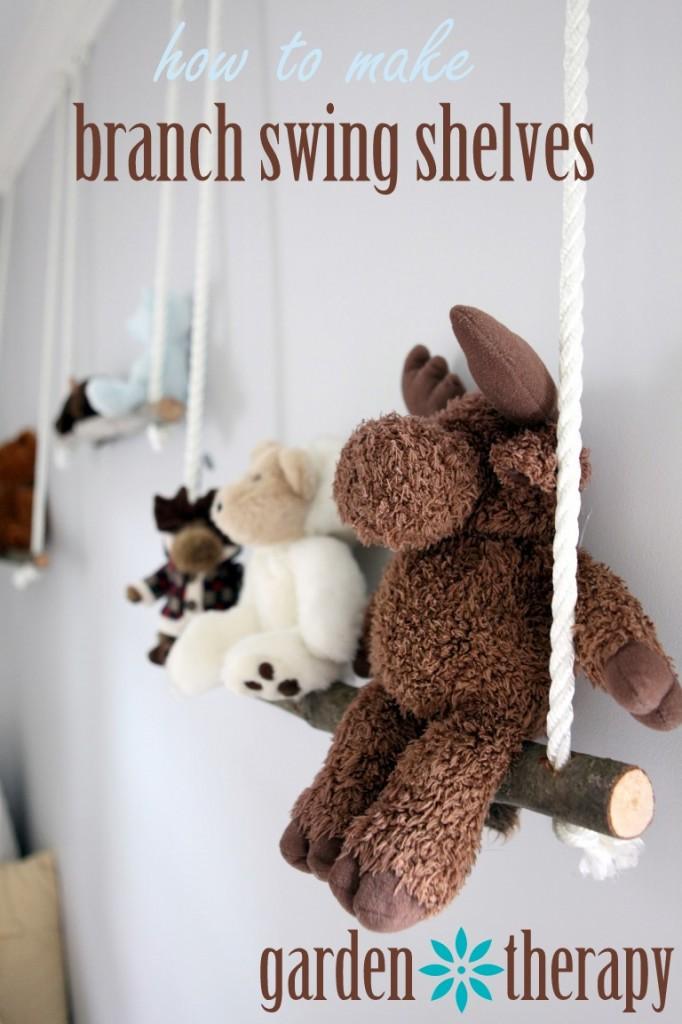 Branch Swing Shelves