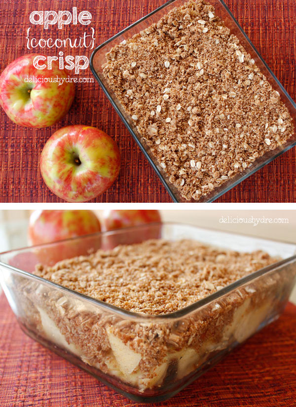 Coconut And Apple Crisp