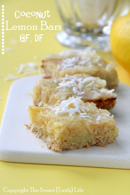 Coconut Lemon Bar