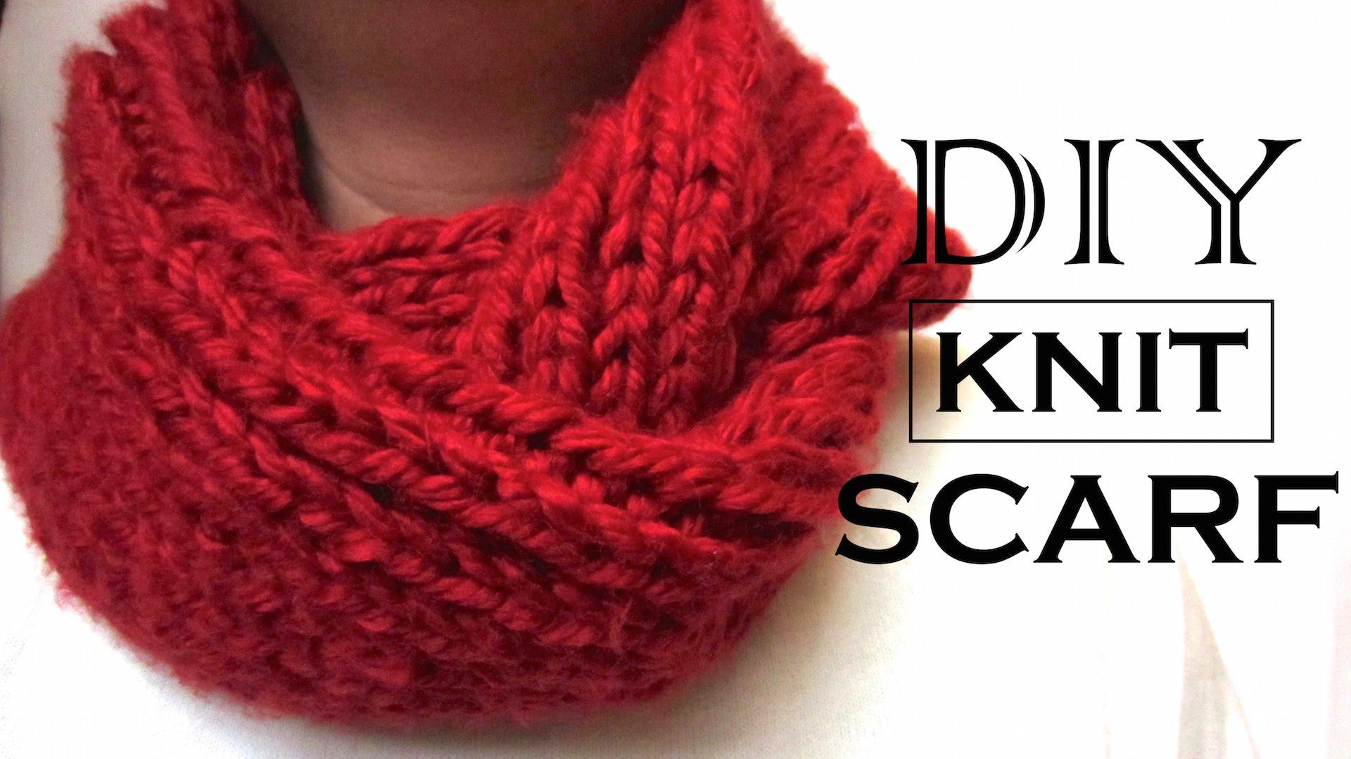 No Knit Scarves - Erieairfair