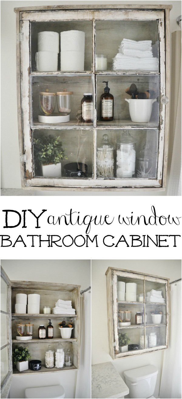 30 DIY Storage Ideas To Organize your Bathroom Page 2 of 2 – Bathroom Storage Cabinet Ideas