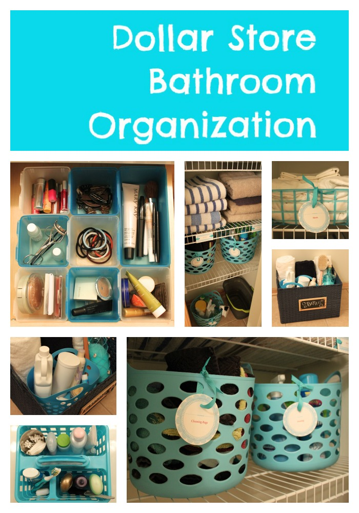 30 diy storage ideas to organize your bathroom for Bathroom organization ideas