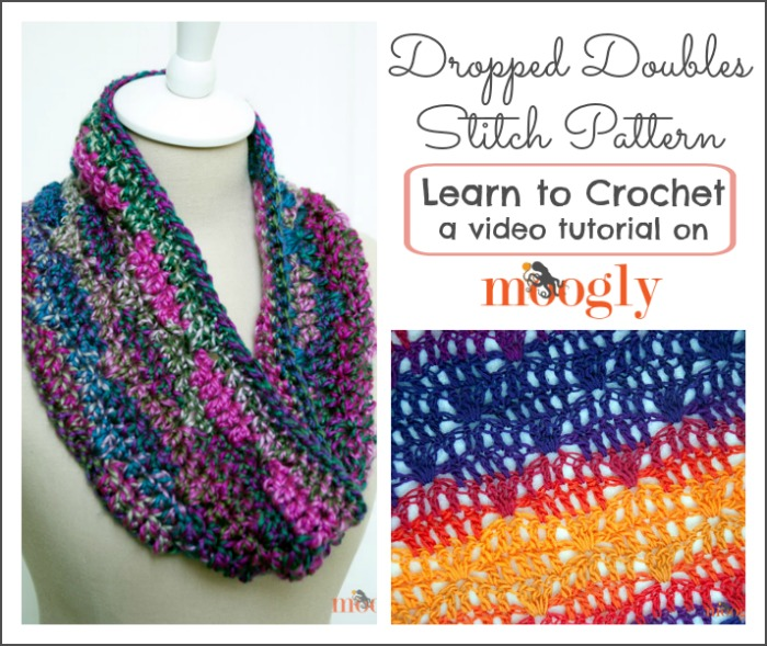 Dropped double Stitch Pattern
