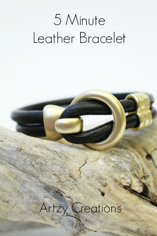 Five-Minute-Leather-Bracelet
