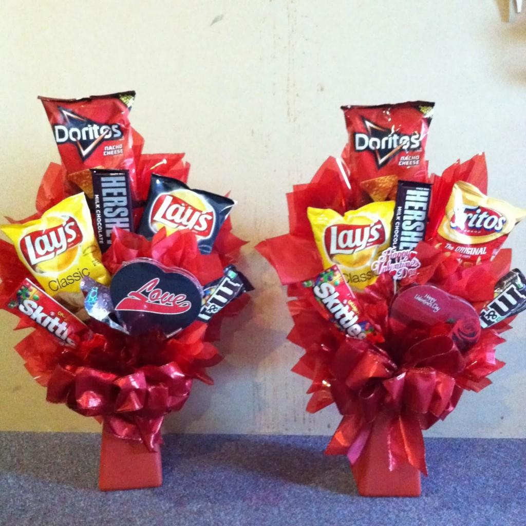 17. Floral food bouquets