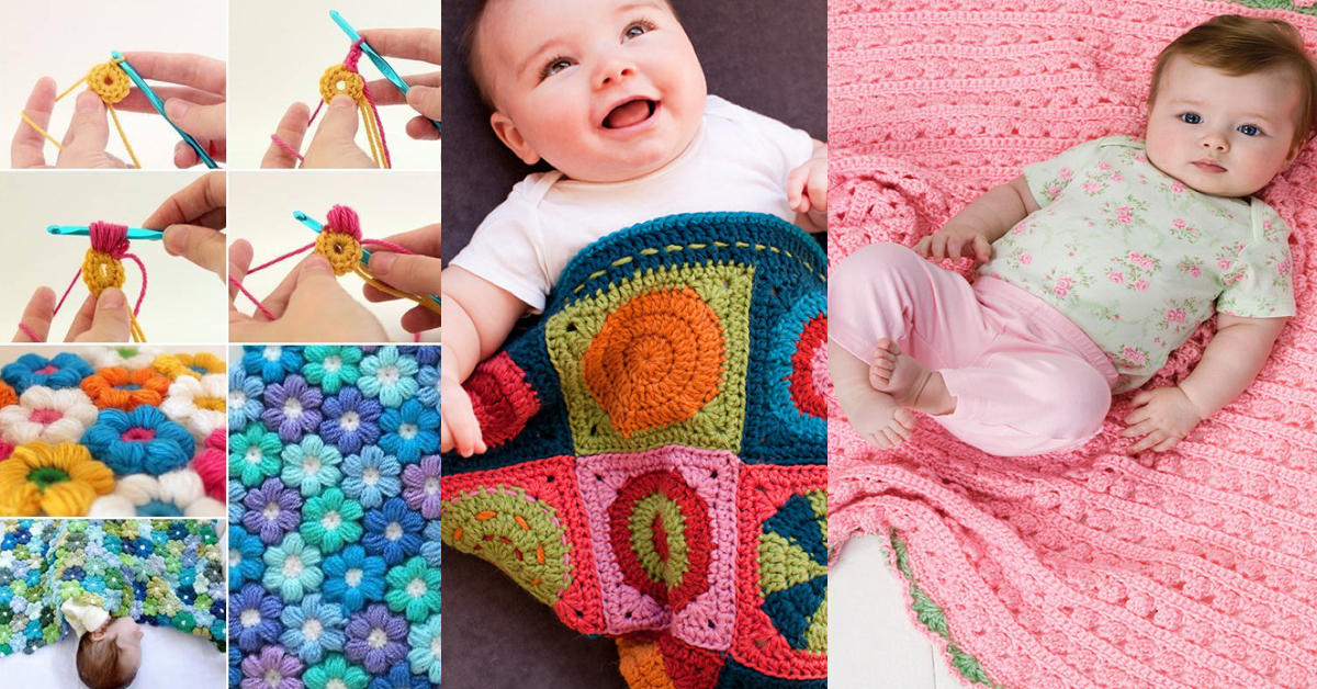 25+ Free Baby Blanket Crochet Patterns – Cute DIY Projects