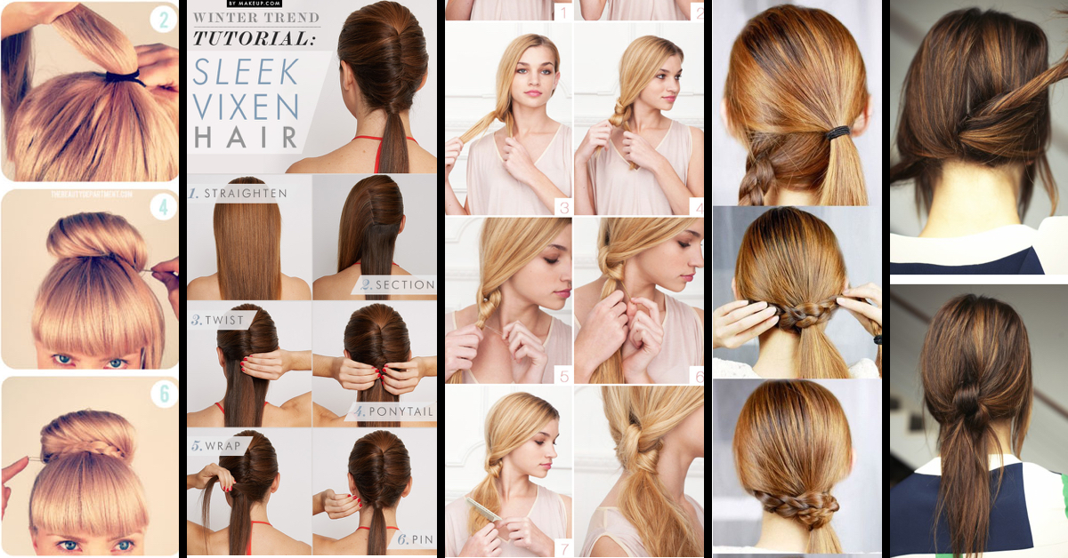 Enjoyable Classy To Cute 25 Easy Hairstyles For Long Hair For 2016 Hairstyles For Women Draintrainus