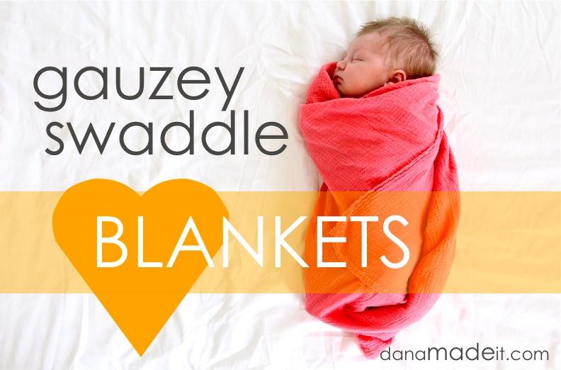 Gauzey swaddle blankets