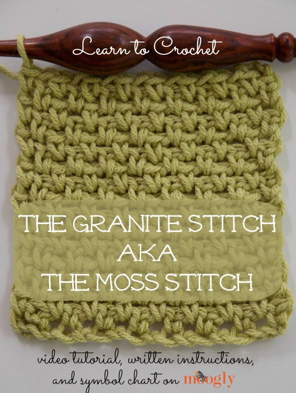 Granite or Moss Stitch