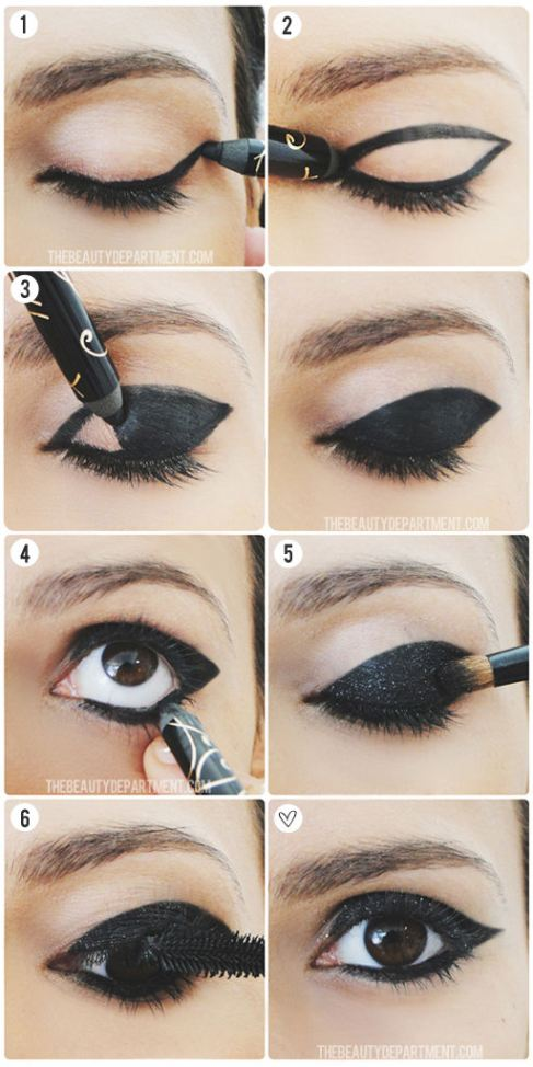 Simple Eye Makeup Tutorial For Brown Eyes | Cosmetics Pictranslator