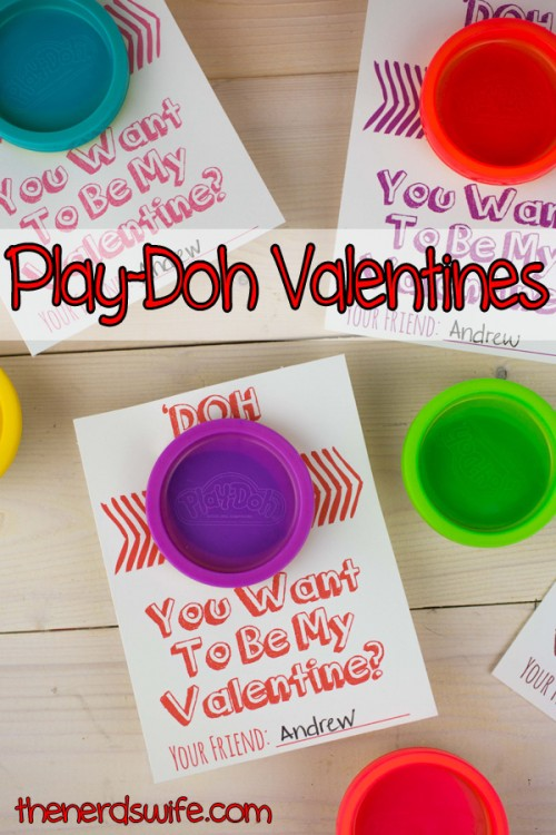 Handmade Valentine Play-Doh