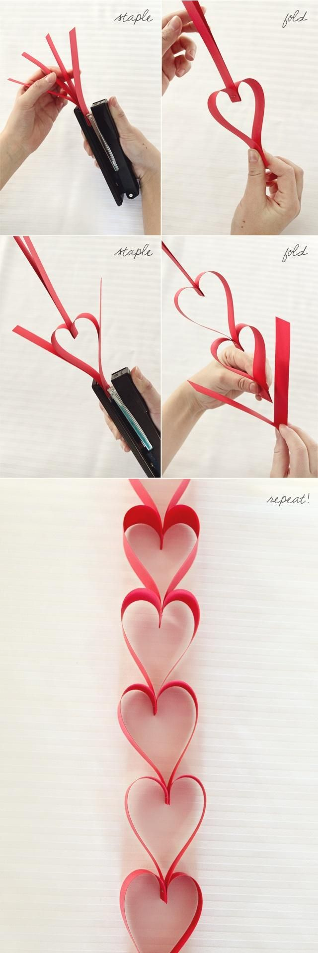 Dimensional Heart Crafts
