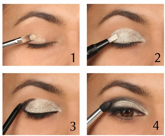 Eye makeup styles step by step