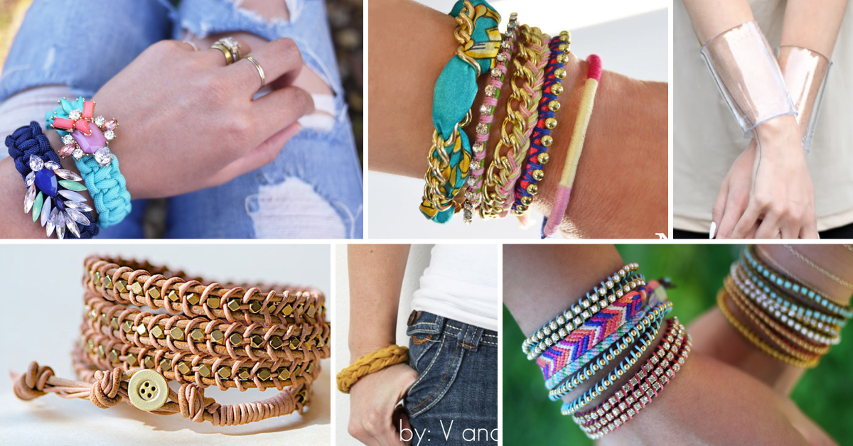 Jewelry Making Ideas 60 Diy Bracelets For Cly Las Cute Projects