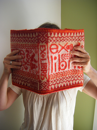 Knitted Book Jacket