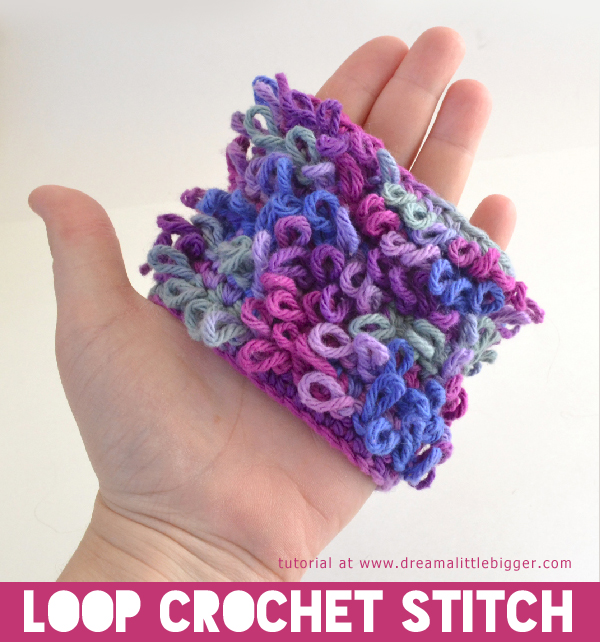 Crochet Patterns Loop Stitch : How To Crochet: 30+ Free Crochet Stitches and Tutorials - Page 2 of ...