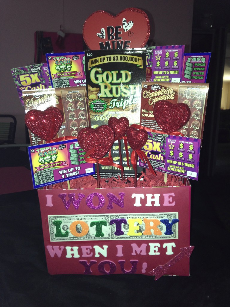 Lottery point-of-sale display